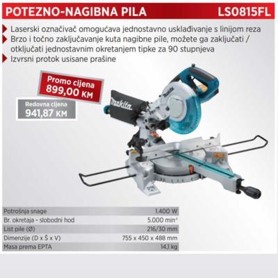 POTEZNO-NAGIBNA PILA LS0815FL